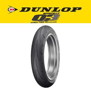 Find New Dunlop Q3 Sportmax 120/70 ZR17 Front Tire motorcycle in Ashton, Illinois, US, for US $128.53