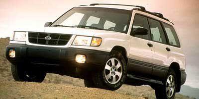 1999 Subaru Forester S (Silver)