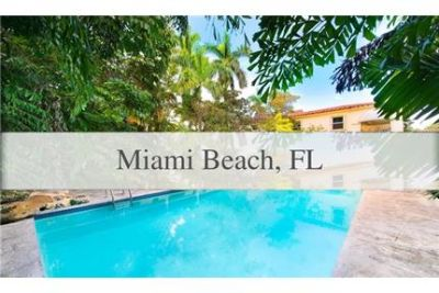 Rare opportunity to own one of the largest properties in Miami Beach.