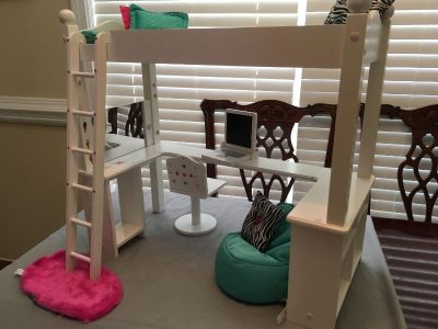 Doll Bed for American Girl Doll you will receive everything that is in the picture Price is Firm