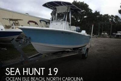 2015 Sea Hunt 196 Ultra