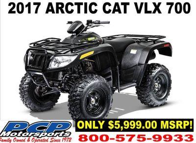 2017 Arctic Cat VLX 700 Utility ATVs Sacramento, CA