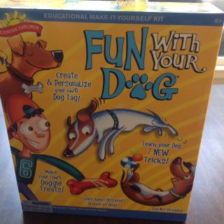 """""""Fun with your dog"""" activity"""