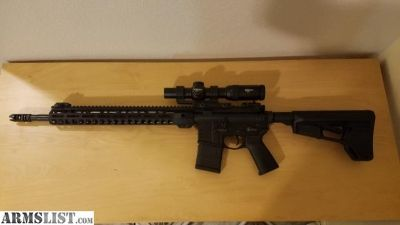 "For Sale: 18"" Aero Precision AR-15 w/ everything"