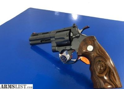 For Sale: Colt Python Elite 4 ROYAL BLUE Super Rare Model