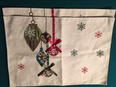 2 New Christmas Placemats
