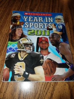 2011 Year in Sports book