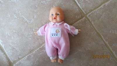 2002 CityToy Small Baby Doll & Outfit Soft Cloth Body - Vinyl Head Hands & Feet