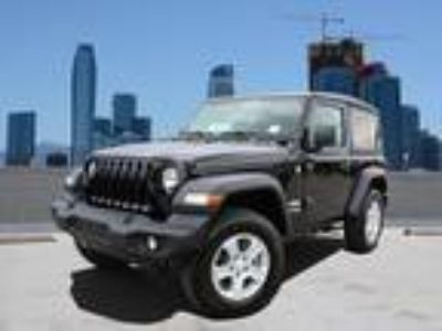 Used 2019 Jeep Wrangler Black Clearcoat, 15 miles