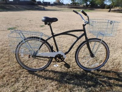 The Station Wagon { 26'' Men's Cruiser } Christopher Metcalfe Creations Check Out Pictures