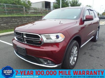 2016 Dodge Durango SXT (Red Pearl Coat)
