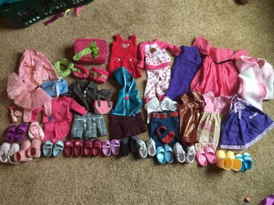 18 doll clothes, accessories