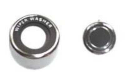 Buy 69-70 MUSTANG WIPER WASHER SWITCH KNOB AND BEZEL motorcycle in Sheffield Lake, Ohio, US, for US $31.95