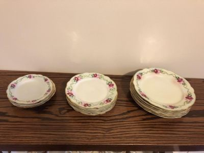 Hand painted Rosenthal plates