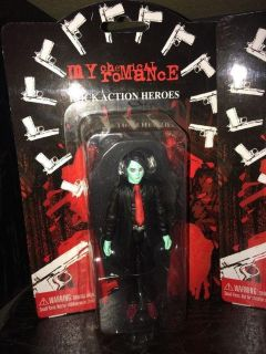 Rare My Chemical Romance Zombie Variant Action Figure