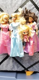 Barbie dolls used all for 3.00