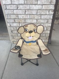 Puppy chair for little kids comes with storage bag