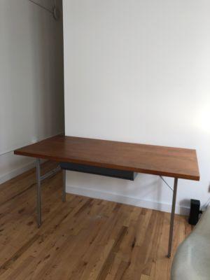 Rare Mid Century Herman Miller Wood Desk