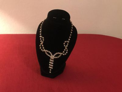 Just In Time 4 That Holiday Party!! Beautiful Rhinestone Necklace