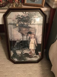 Large Picture in beautiful frame