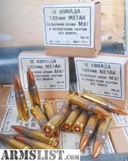 For Sale: 7.62x39 brass case ammo