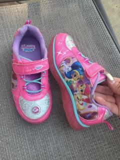 Shimmer and Shine light up sneakers size 12