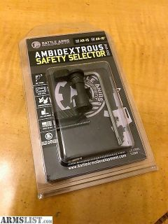 For Sale: Battle Arms Ambi Safety