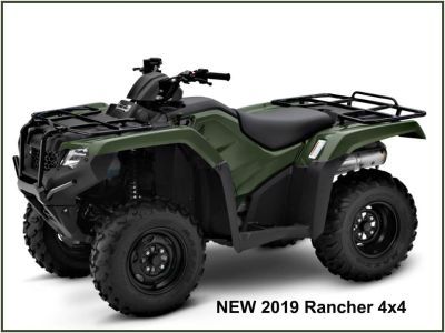 2019 Honda FourTrax Rancher 4x4 Utility ATVs Erie, PA