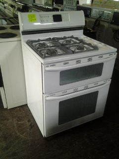 $301, Maytag Gemini Double Oven Range Gas
