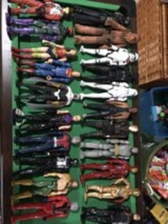 lot of Hasboro action figures- 22 total