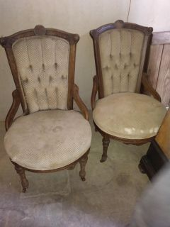 Victorian Parlor Chairs