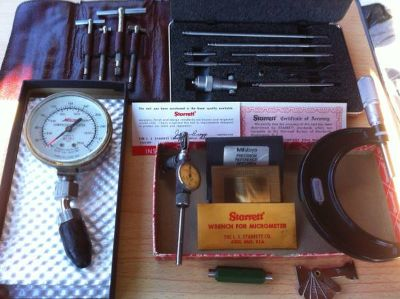 Precision  Micrometer tools etc.