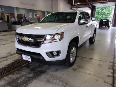 2018 Chevrolet Colorado (summit white)