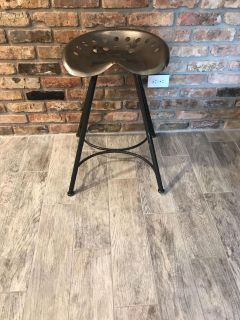 Tractor seat Bar stool. Counter height.