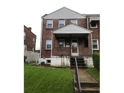 3 Bed 1 Bath Foreclosure Property in Dundalk, MD 21222 - Woodley Rd