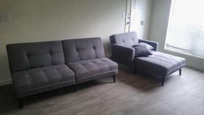 Couch Futons with Pillows