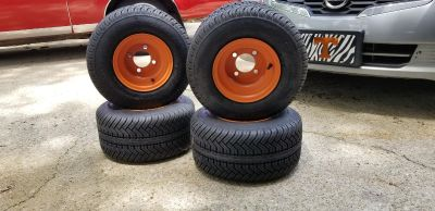 New golf cart tires and rims
