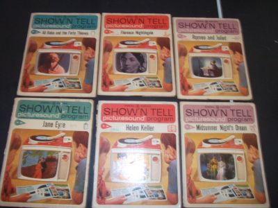 SHOW n TELL Record/Book Lot
