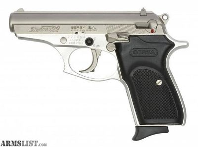 For Sale: Bersa Thunder Nickel plated 22