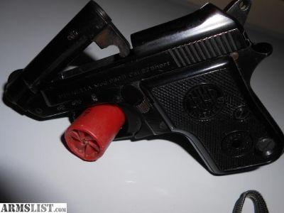 For Sale: Beretta model 950 b 22 short