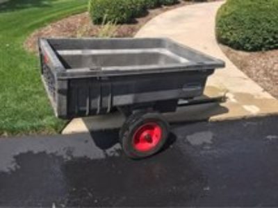 trailer for lawn tractor