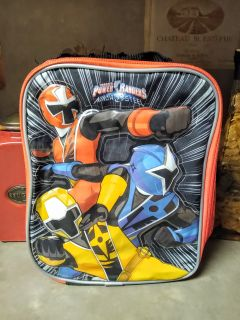 "NICE INSULATED ""POWER RANGERS"" LUNCH BAG"