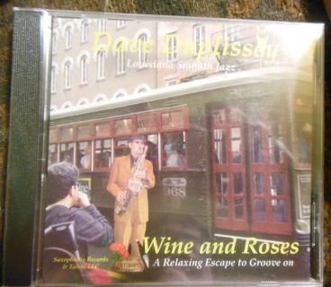 Dave Duplissey CD WINE AND ROSES