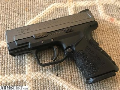 For Sale: As new Springfield XD Mod 2 9mm cerakoted in tungsten