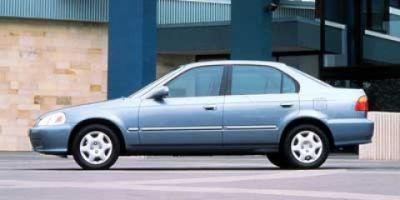 1999 Honda Civic EX (Clover Green Pearl)