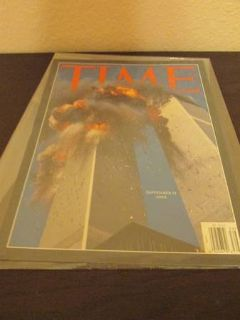 Collectible Magazines- TIME magazine issuing 911 event