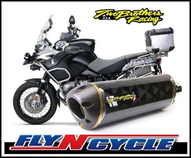Find Two Brothers M-2 Carbon Fiber Slip-On Exhaust 2008 2009 BMW R1200GS GSA motorcycle in Ashton, Illinois, US, for US $479.96