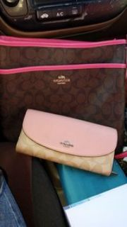 coach wallet and purse