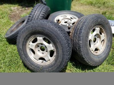 01 Silverado wheels