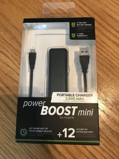 Brand new in box Portable charger